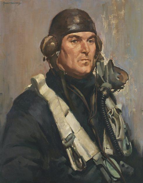 Freedman Harold. Командир эскадрильи Edward Ifould.