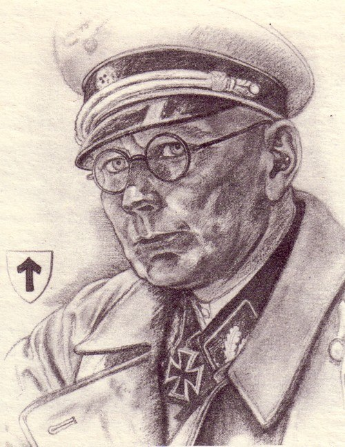 Willrich Wolfgang. Обергруппенфюрер СС Georg Keppler.