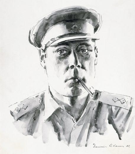 Adams Dennis. Лейтенант артиллерии Graham.