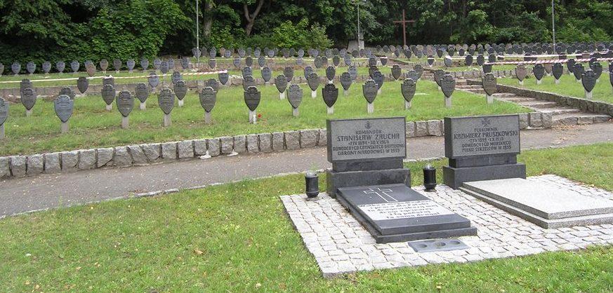 г. Гдыня Кладбище солдат Польской Армии, погибших в 1939 году.