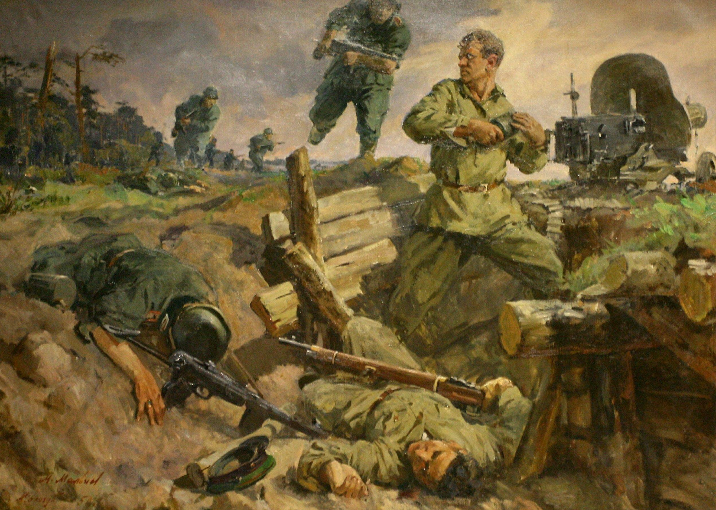 Мальцев М. Сологуб А. Пограничники не сдаются.