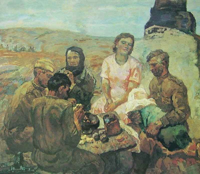 Прокопинский Геннадий. Солдаты.