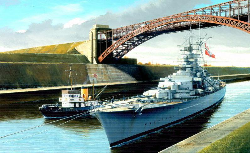 Berryman Ivan. Линкор «Tirpitz».