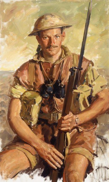 Dargie William. Пехотинец El Alamein.