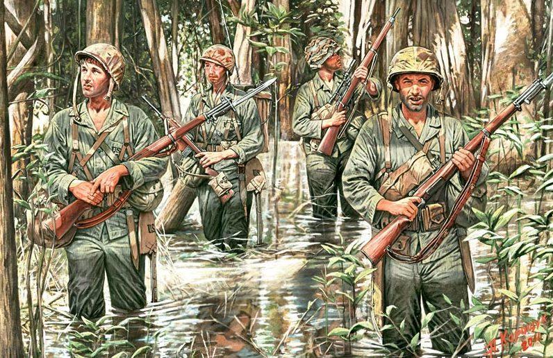 Каращук Андрей. Морская пехота в джунглях.