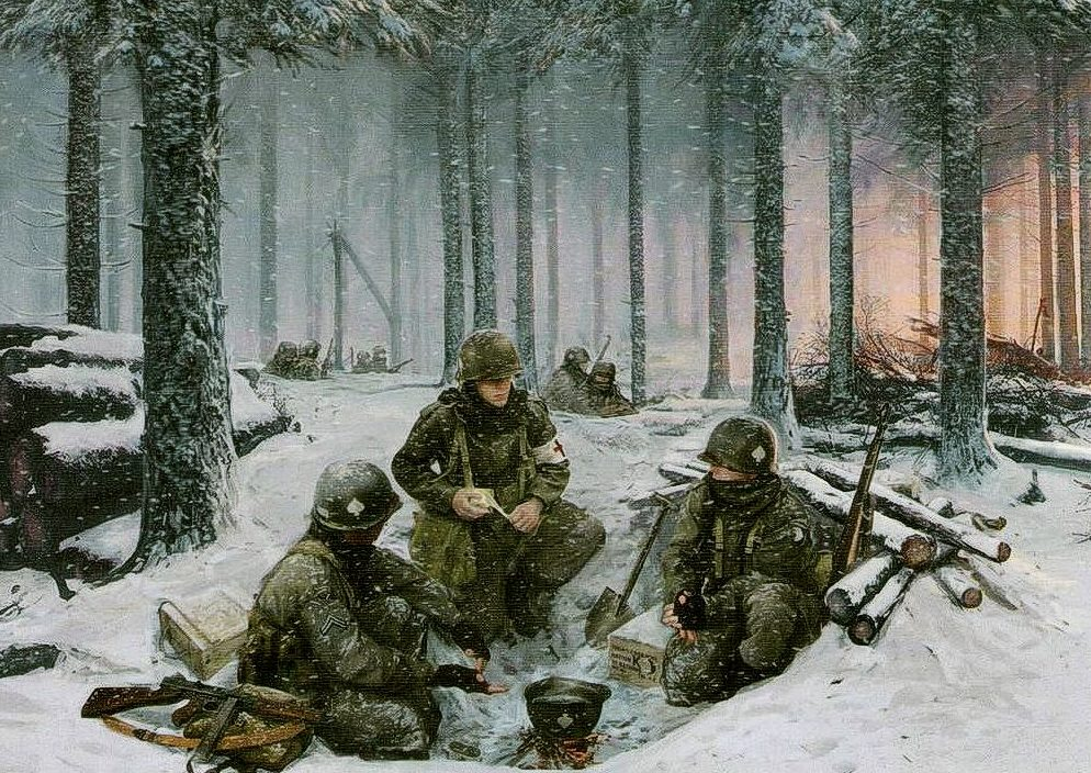 Smith Simon. Привал у Bastogne.