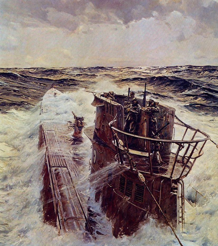 Watton Ross. Подводная лодка серии IX-B.