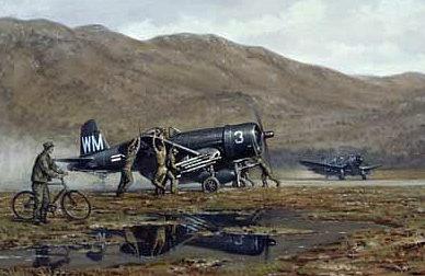 Wong Ronald. Истребители F4U-4 Corsair.