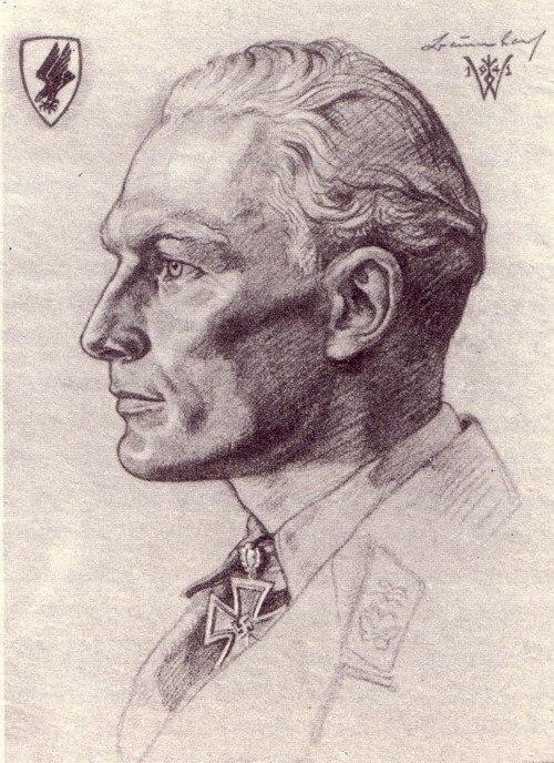 Willrich Wolfgang. Летчик-истребитель полковник Werner Baumbach.