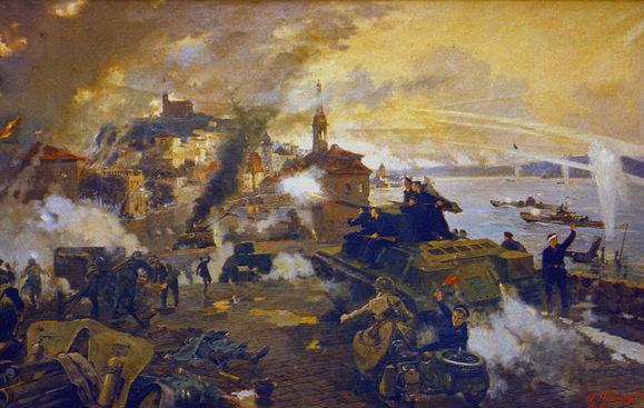 Трошичев А., Ефимов А. Моряки в боях за Будапешт. Декабрь 1944 г.