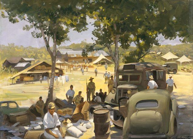 Buckmaster Ernest. Лагерь интернированных японцев.