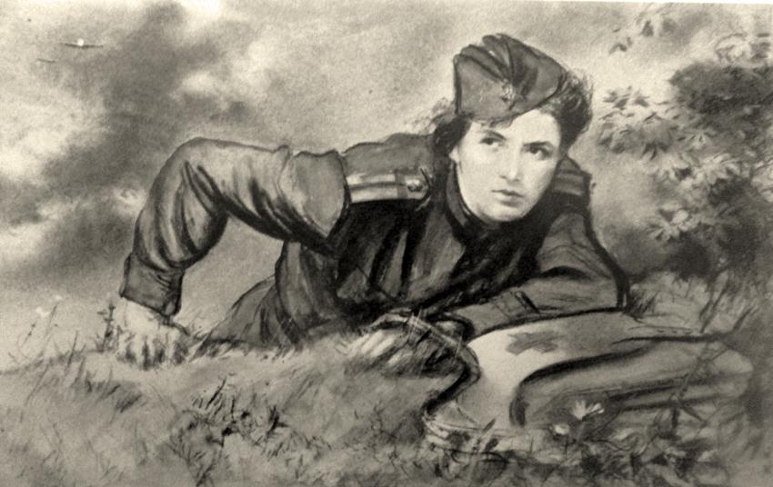 Жуков Николай. Санинструктор.