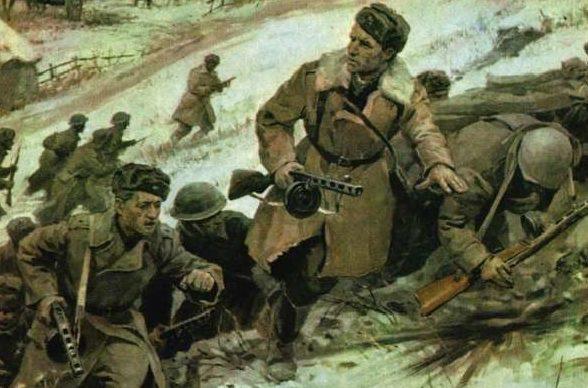 Парчевский В., Эфроимсон И., Мокржицкий В. Диорама «Бой у Соколова 8 марта 1943 г.»