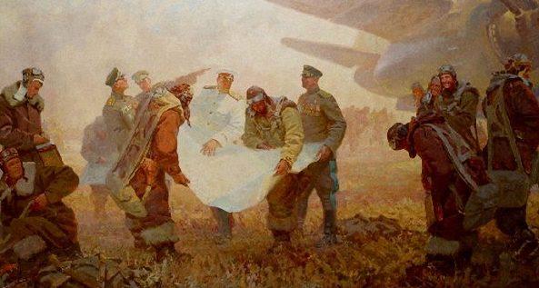 Шапошников Михаил. Перед штурмом.