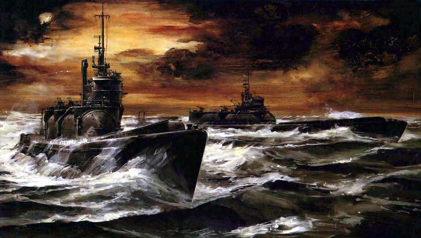 Callow William. Японские подлодки в океане.