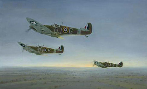 Coulson Gerald. Истребители Supermarine Spitfire.