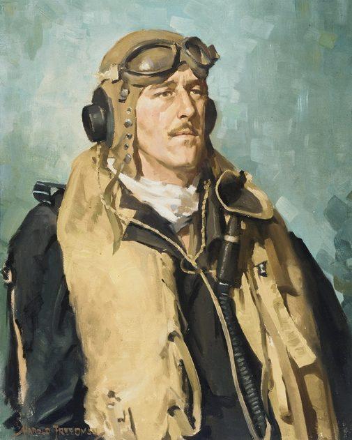 Freedman Harold. Командир крыла Clive Caldwell
