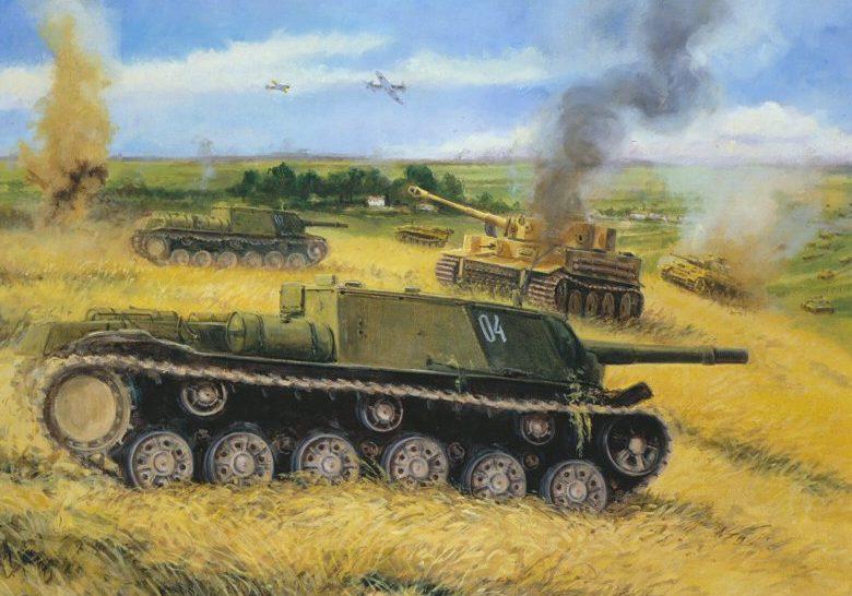 Pentland David. Танковый бой.
