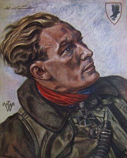 Willrich Wolfgang. Полковник Werner Baumbach.