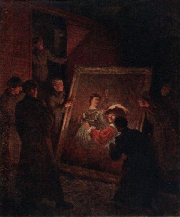Трузе-Терновская Юлия. Встреча с Рембрандтом (Спасение Дрезденской галереи).