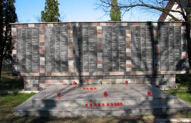 Мемориальная стена.
