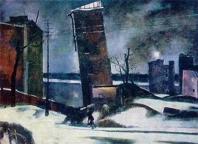 Мыльников Андрей. Ленинград 1941 год.
