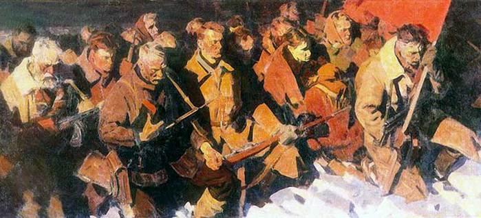 Самсонов Марат. Клятва партизан.