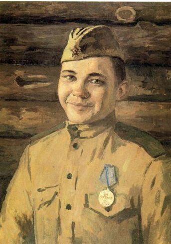 Иванов В. Медаль за отвагу.