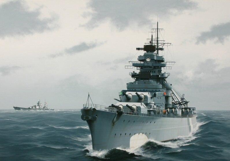 Berryman Ivan. Линкор «Bismarck».