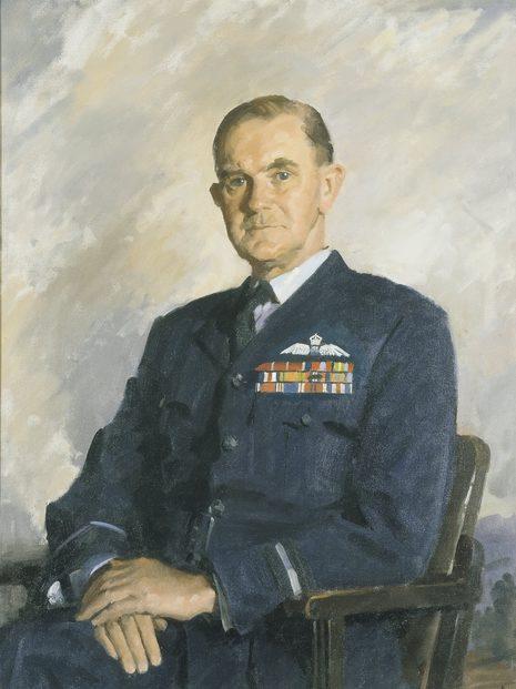 Dargie William. Вице-маршал авиации Francis Bladin.