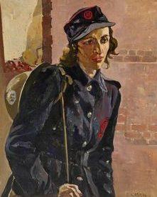 Gabain Ethel. Военнослужащая вспомогательного подразделения.