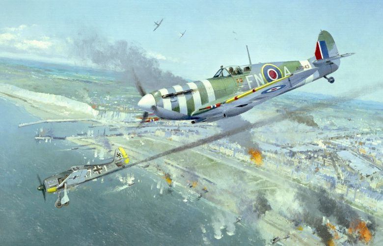 Middlebrook Roger. Истребитель Supermarine Spitfire.