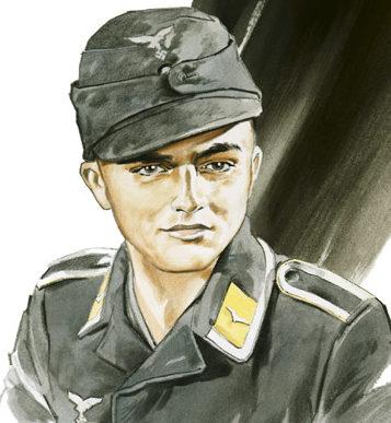 Nutkins Geoff. Унтер-офицер Lothar Mothes.
