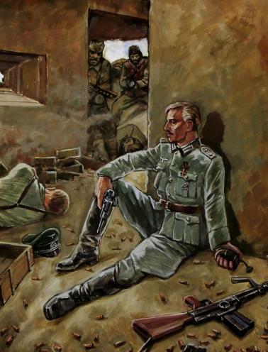 Шуб Марк. Русский корпус. Балканы, 1944 год.