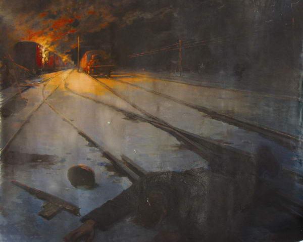 Трузе-Терновская Юлия. Взрыв эшелона.