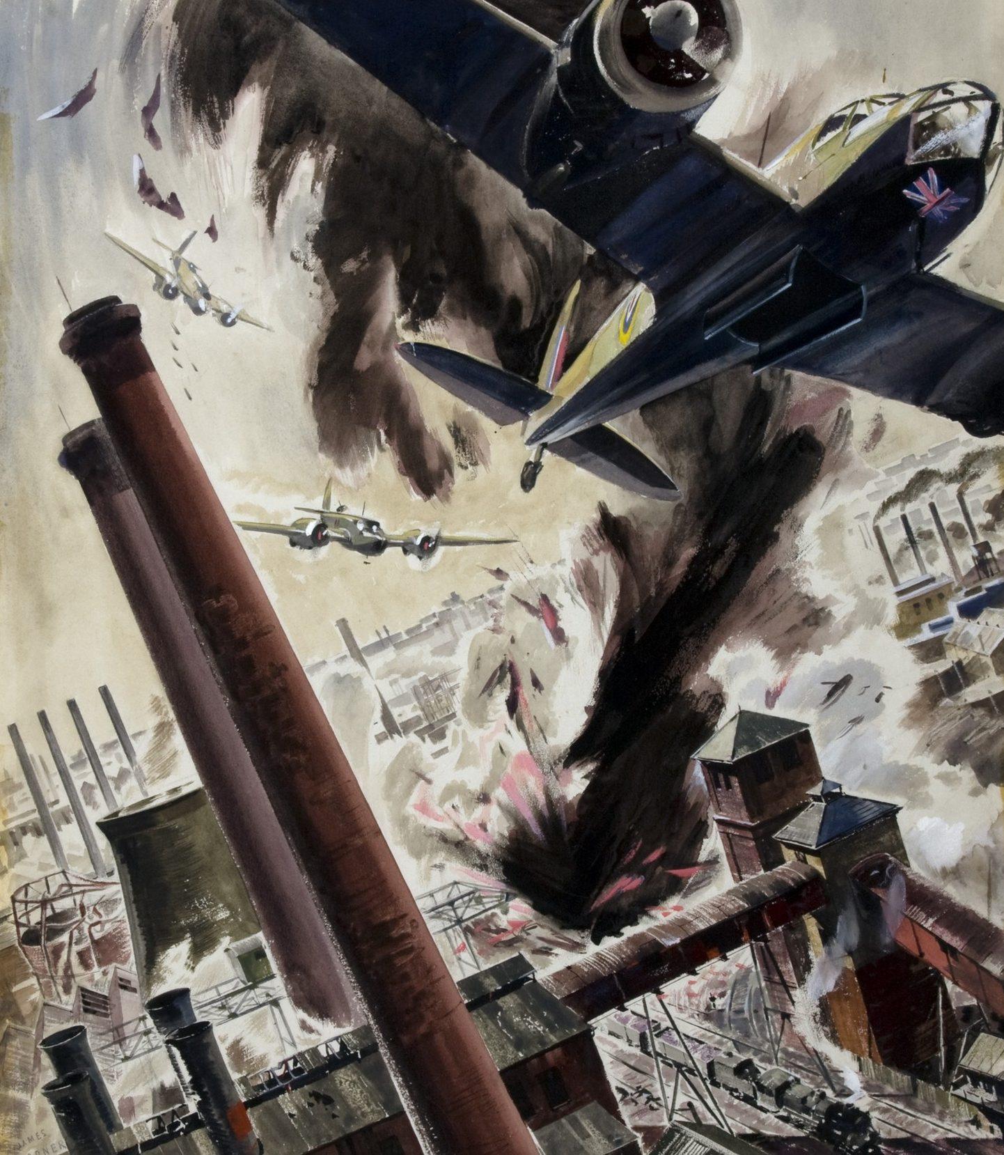 Gardner James. Бомбовой удар «Blenheims».