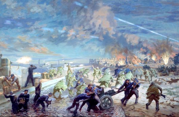 Дормидонтов Николай. Высадка десанта в Пинске 12 июля 1944 г.