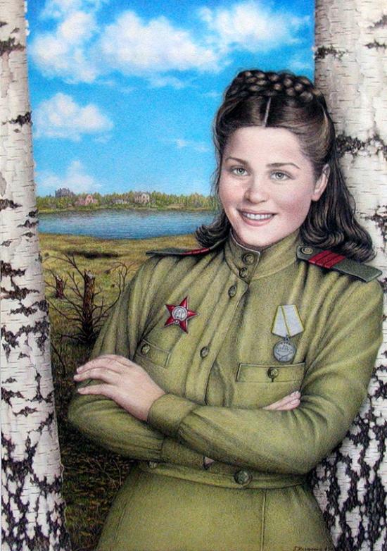 Назаренко Галина. Весна 45 года.