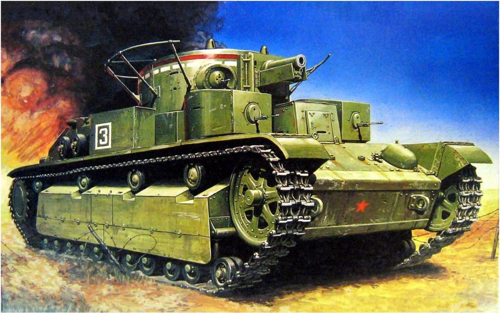 Олейник Виктор. Танк Т-28.