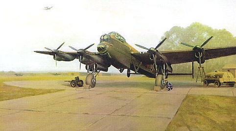 Coulson Gerald. Бомбардировщик Avro Lancaster.