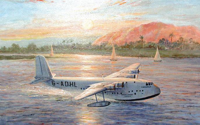 Ettridge Douglas. Летающая лодка.