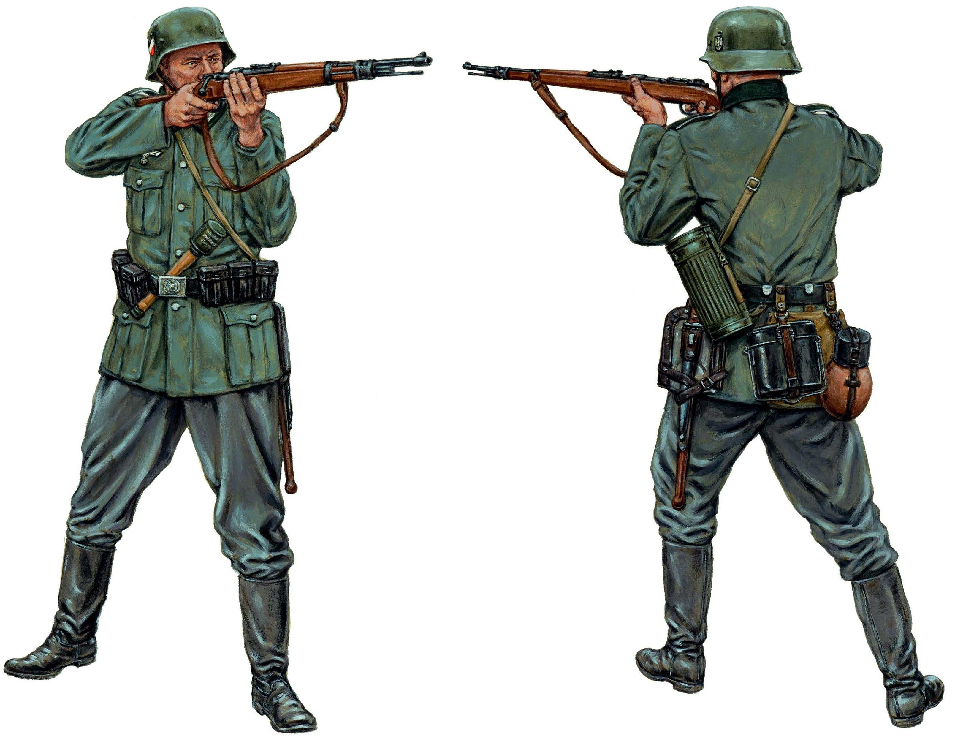 Hook Adam. Немецкие солдаты.