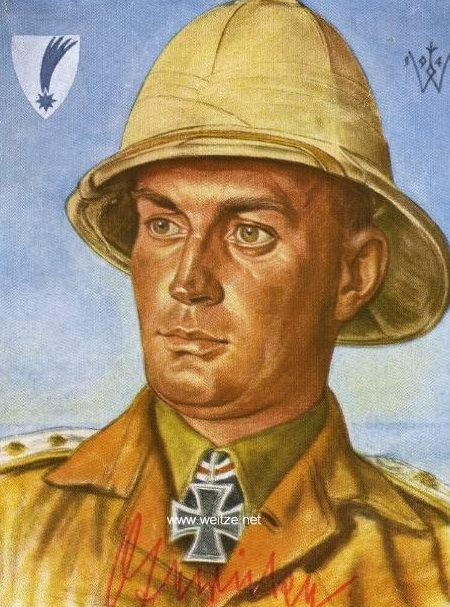 Willrich Wolfgang. Полковник Walter Gericke.