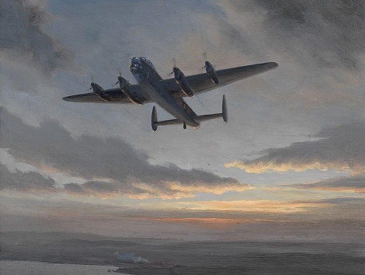 Nockolds Roy. Бомбардировщик «Lancaster».