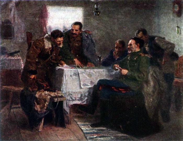 Труфанов Н. В штабе Ковпака.