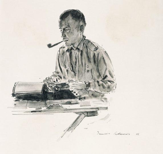 Adams Dennis. Военный корреспондент.
