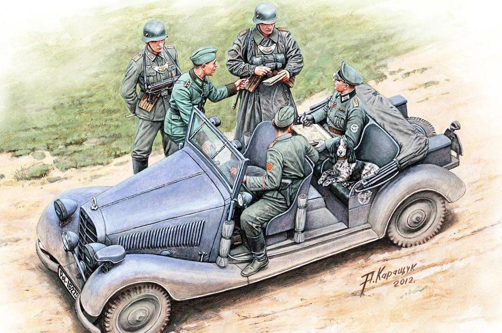 Каращук Андрей. Военная жандармерия. Проверка документов.