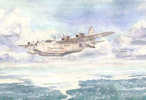 White John. Летающая лодка.