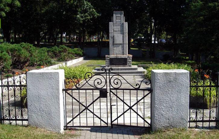 г. Квидзын. Воинское кладбище по улице Грунвальдзка, где захоронено 543 советских воина, в т.ч. 206 неизвестных, погибших в годы войны.