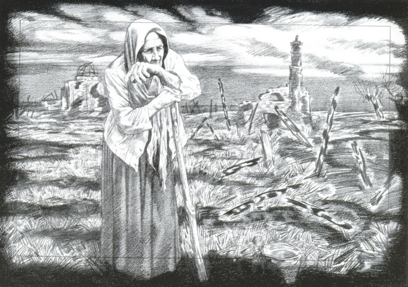 Косенков Станислав. На пепелище.